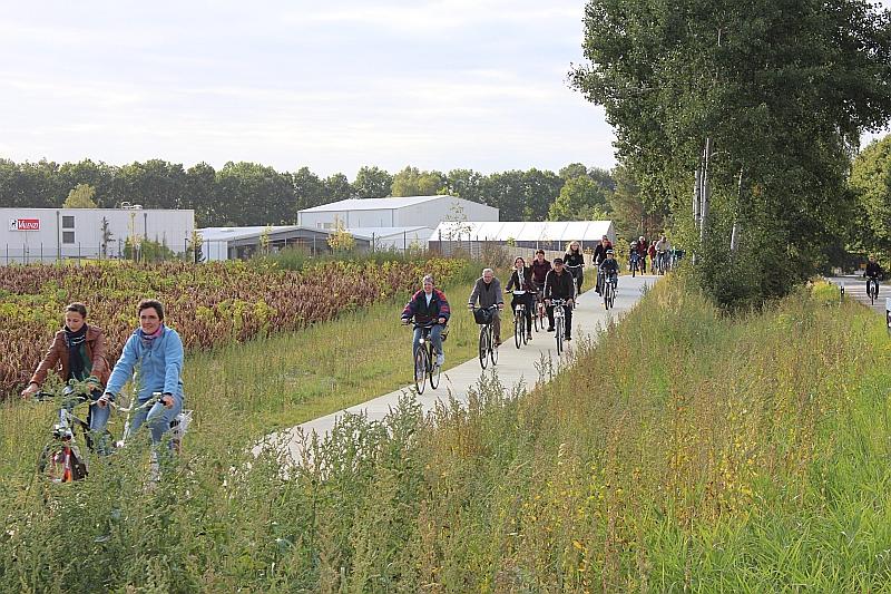 Bürger-Radwegeinweihung