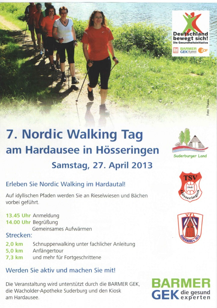 Nordic Walking tag Suderburg