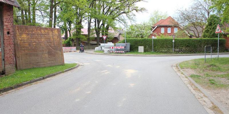 Baustelle Stand Pfingsten 2013