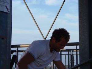 2012 war C. Braun der schnellste Vertikalsprinter!