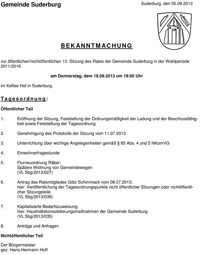 2013-09-19_SUD_RAT_Bekanntmachung