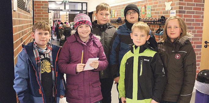 Foto-Termin in der Grundschule Suderburg