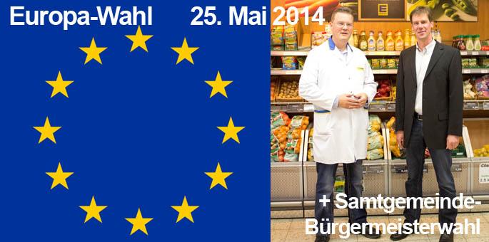 Europawahl/SG-Bürgermeisterwahl