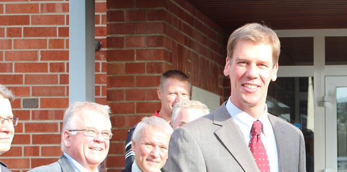Vereidigung des neuen Samtgemeindebürgermeisters