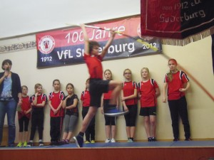 VfL-Vorführungen der Leichtathleten
