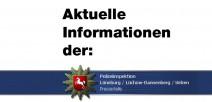 Die Polizei warnt vor jahreszeitbedingten Gefahren