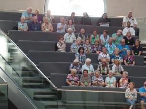 Besichtigung des Bundestages