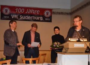 Jürgen Sebeke wird verabschiedet