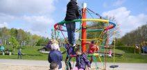 Neues Spielgerät in der Grundschule Suderburg