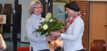 40-jähriges Dienstjubiläum von Margrit Stephan