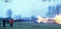 Annahmezeiten für das Osterfeuer in Suderburg