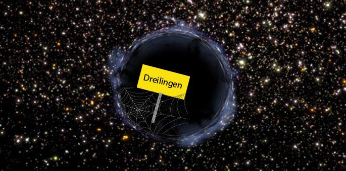 """Dreilingen: Leben im """"schwarzen Loch"""""""