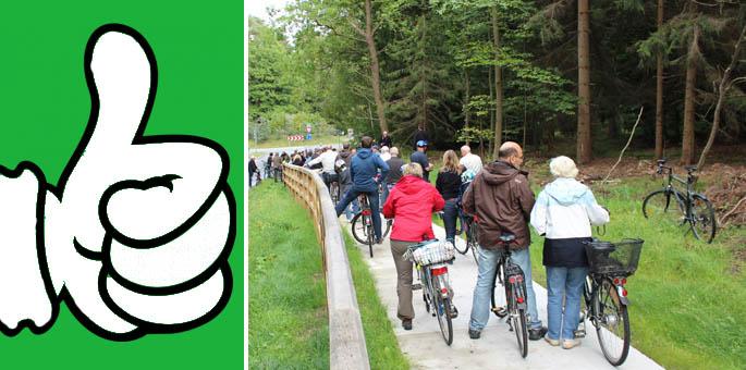 Etappensieg für Radwegebau von Stadensen zum Kreisel