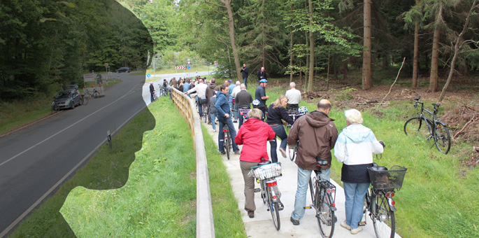 Radweg Stadensen-B4: Gebt dem Wunsch ein Gesicht...