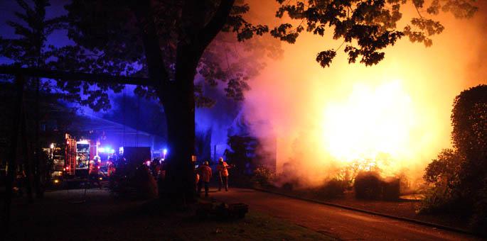 Großbrand in Böddenstedt